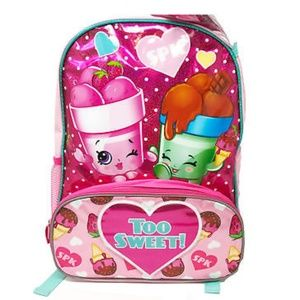 """Other - Shopkins Too Sweet 16 """" backpack"""